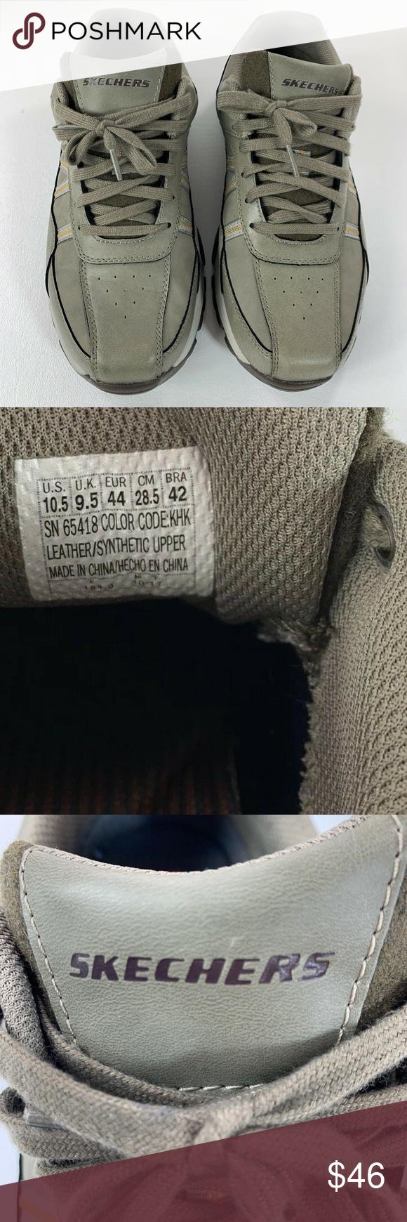 Skechers Leather&Synthetic shoe, Men's Fashion, Men's