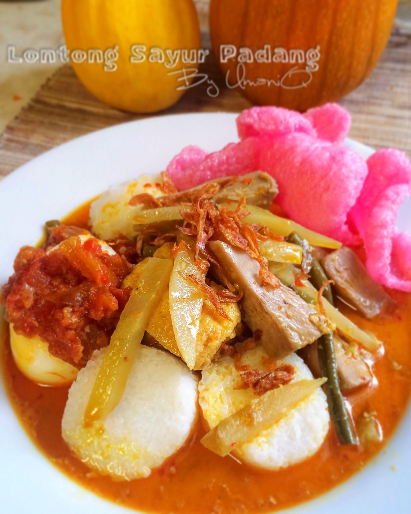 Lontong Sayur Padang Balado Telur Umaniq Indonesian Food In 2018 Kuliner  Pisang By Minar Production Bdg
