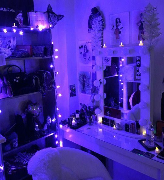 Teenageers Neon Bedroom Room Inspiration Bedroom Neon Room