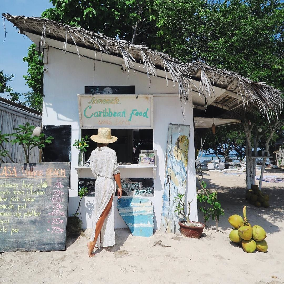 Jamaican Pot Please!! Our Fave Beach Shack For Lunch!! We