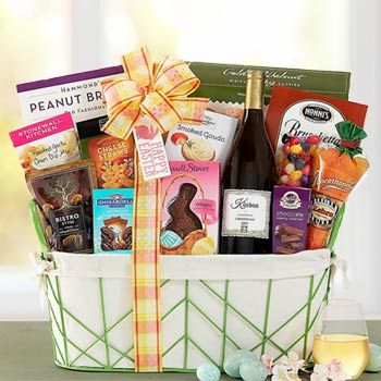 Easter wine gift basket see more at giftbasketpros easter wine gift basket see more at giftbasketpros negle Images