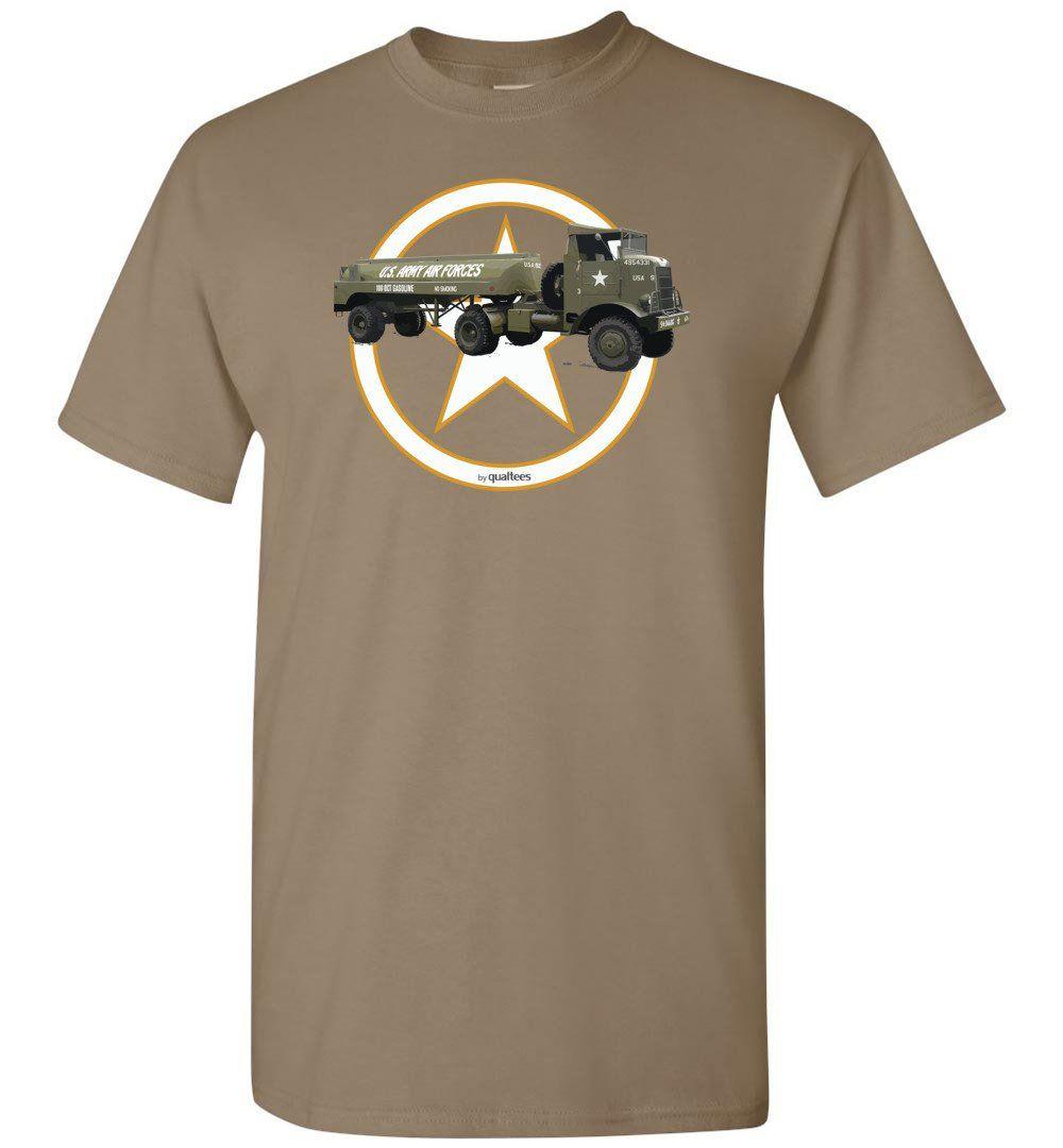 Red Ball Express - Autocar U7144T - Cotton T-Shirt