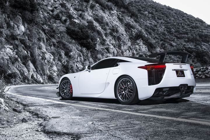 lexus lfa rear driver s side view www newportlexus com lfa rh pinterest com