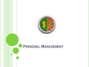 personal management merit badge