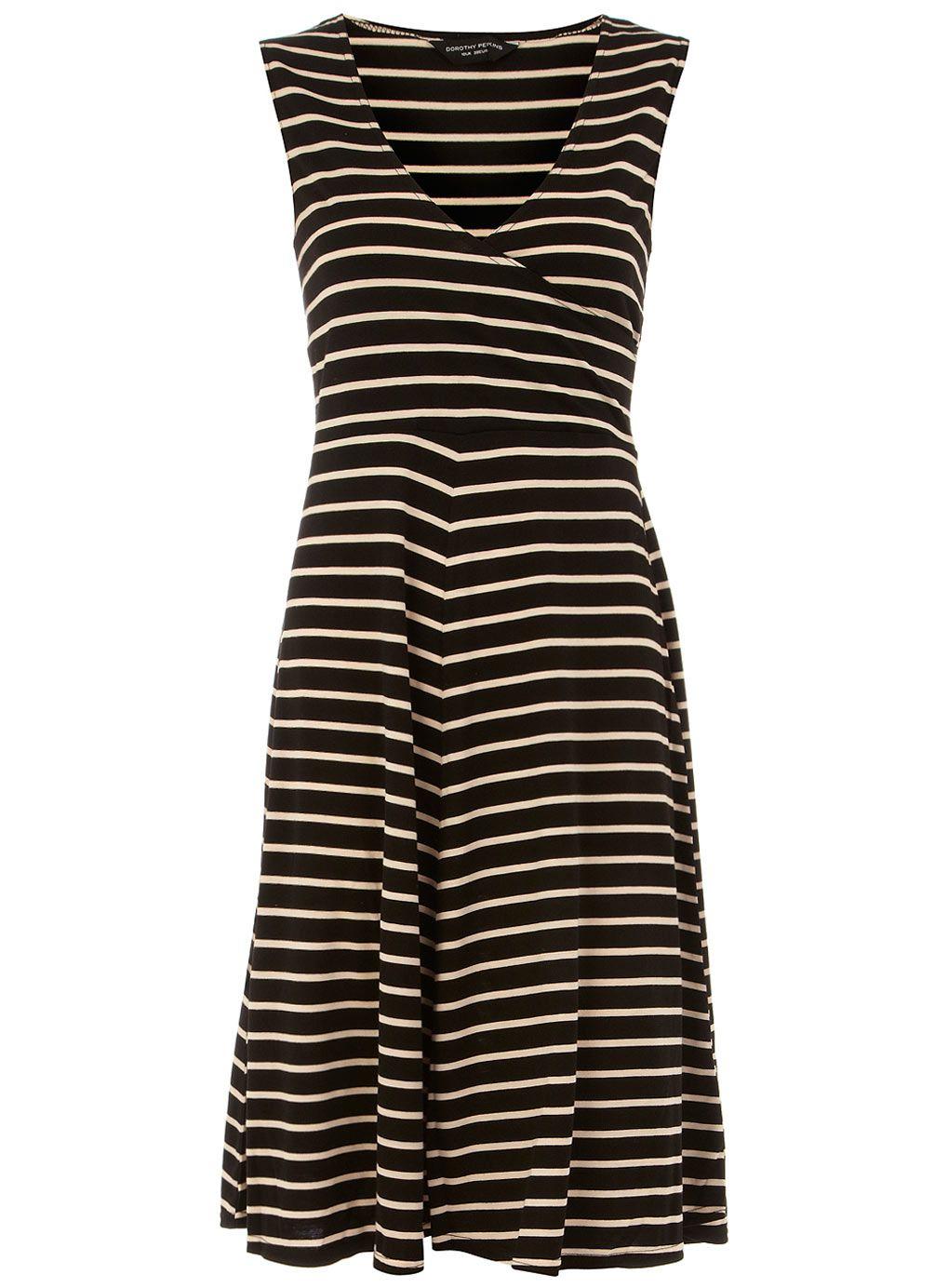 Black Blush Wrap Jersey Dress Dorothy Perkins My Style