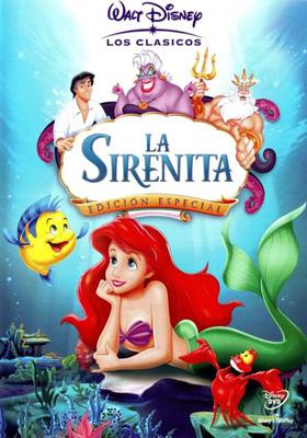 Caratula De La Sirenita De Disney Peliculas Clasicas De Disney Peliculas Infantiles De Disney Peliculas De Disney