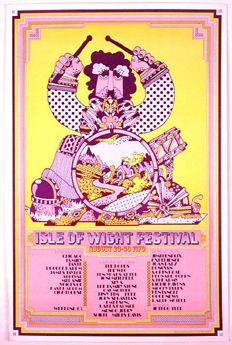 Isle Of Wight Festival Isle Of Wight Festival Festival Posters Festival