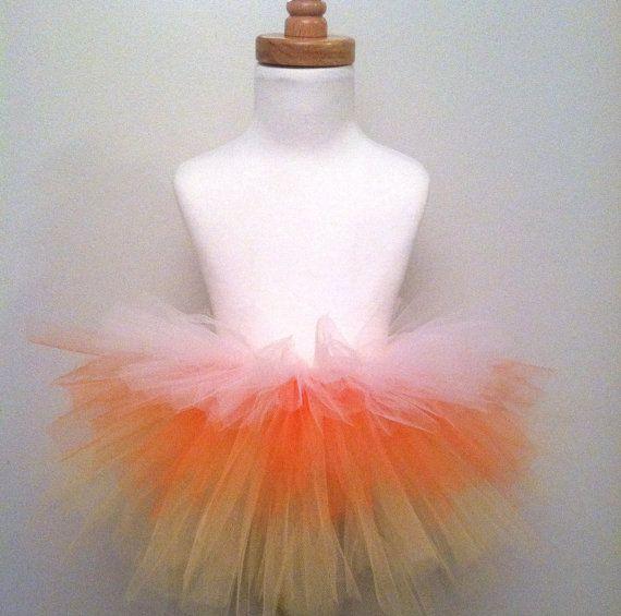 Candy Corn Tiered Tutu Halloween Costume by beautifulbeebee, $2500 - halloween tutu ideas