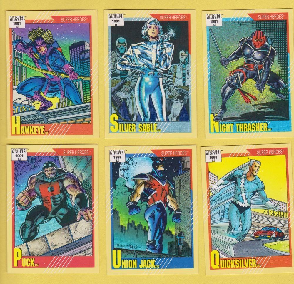 Park Art|My WordPress Blog_Marvel Trading Cards 1991 Value