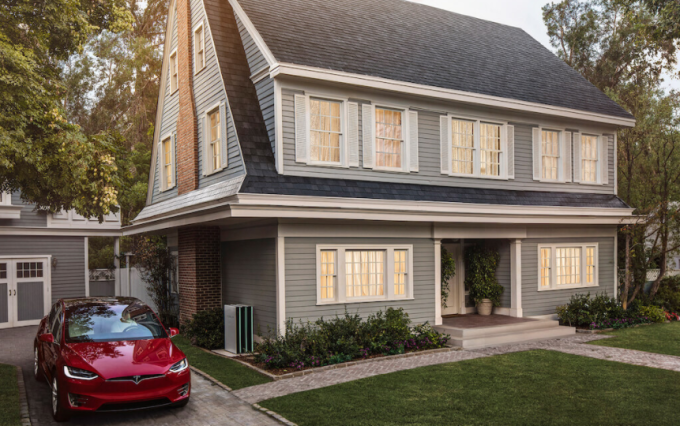 Tesla Opens Up Solar Roof Pre Orders Answers The Most Important Question How Much Will It Cost You Solar Energy For Home Solar Roof Tiles Solar Roof