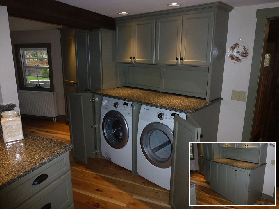 Built In Washer Dryer Cabinets F14 On Modern Interior Home