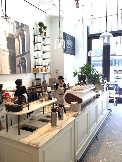 NEW YORK CITY GUIDE: TOBY\'S ESTATE COFFEE - Design Darling | SHOPS ...