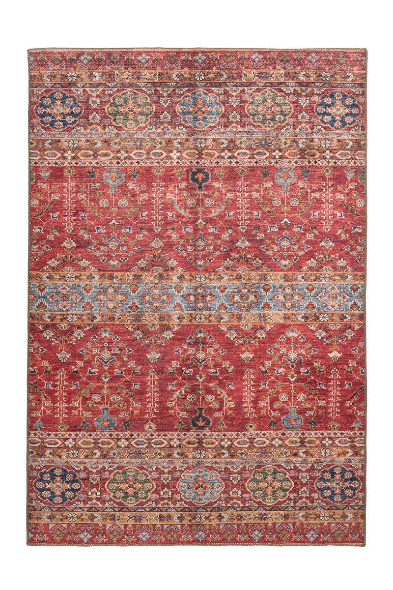 Teppich Faye 325 Multi Rot In 2020 Teppich Teppich Beige Orientalisch