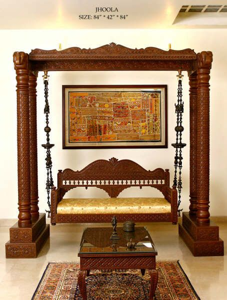 Traditional Jhoola Indian Swing Handicraft - Buy Swing Product on
