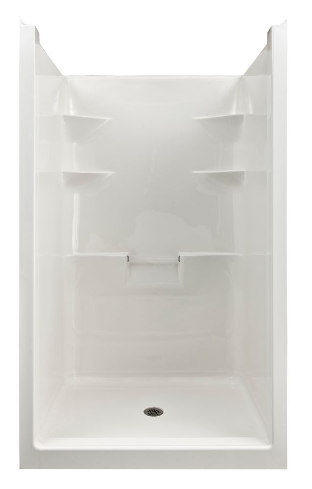 Melrose 4 1 Piece Acrylic Shower Stall Small Shower Remodel