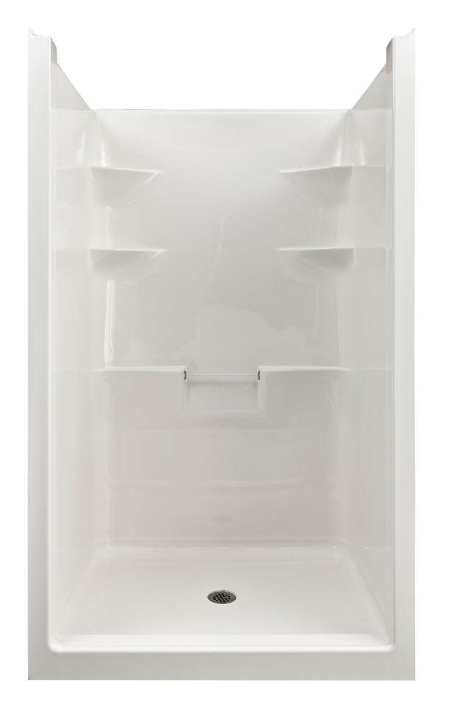 Melrose 4 1 Piece Acrylic Shower Stall Shower Stall Shower