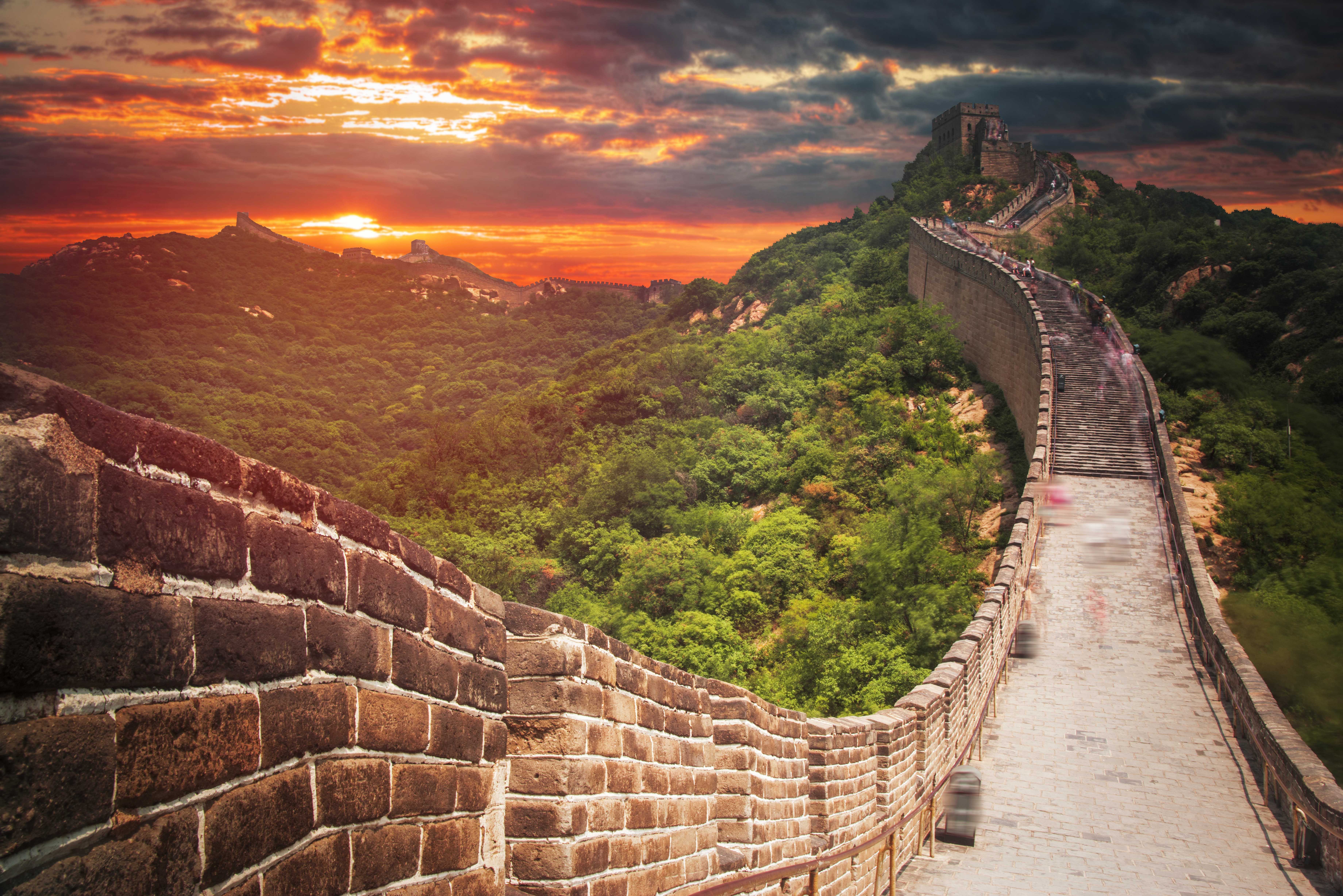 chinese civilization is the only one that survived on great wall of china huanghuacheng id=33132