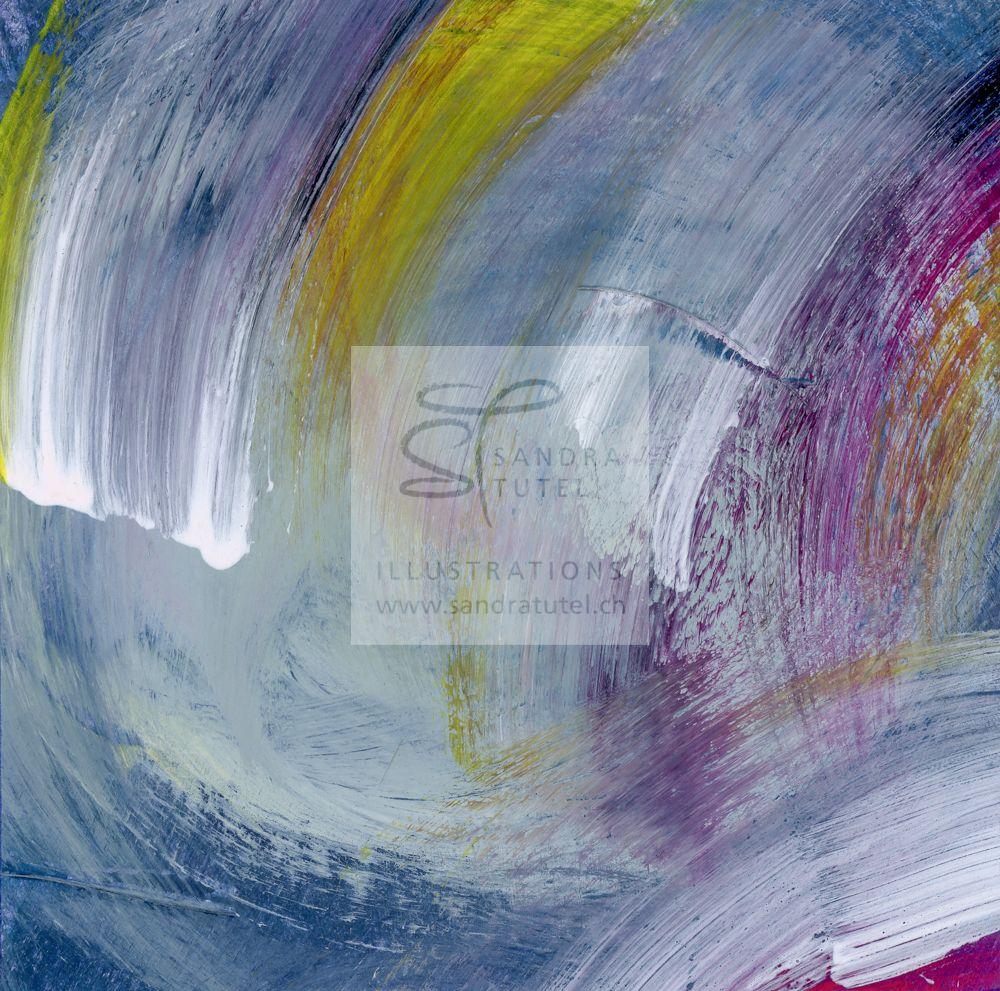 colors in motion, Gouache