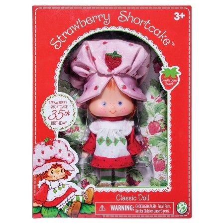 Strawberry Shortcake 40th Anniversary Soft Doll