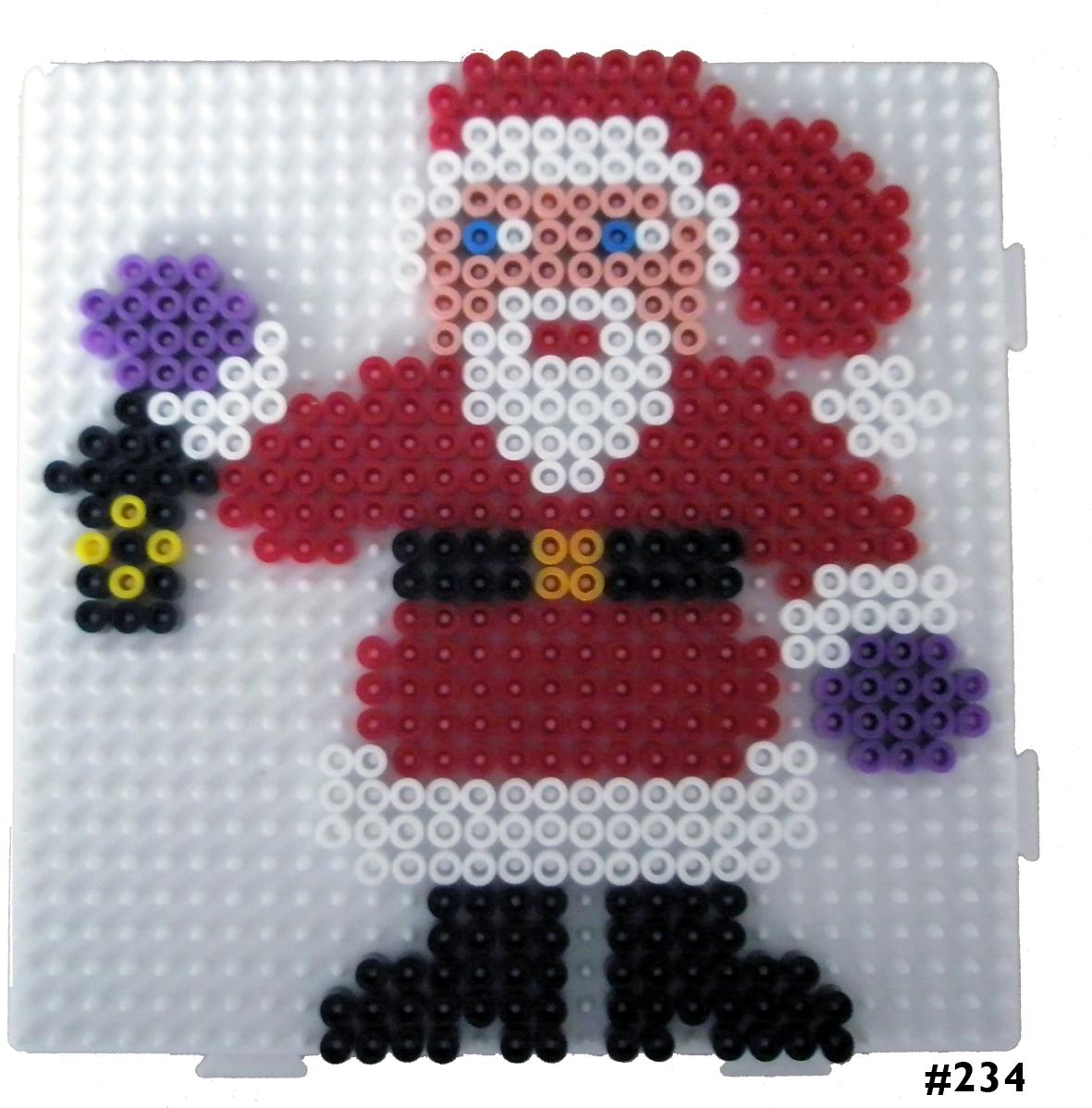 Santa Hama midi perler pattern