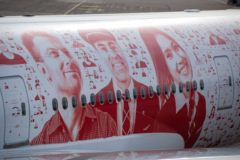 Swiss has released images of the special livery covering its first Boeing B777-300ER aircraft.
