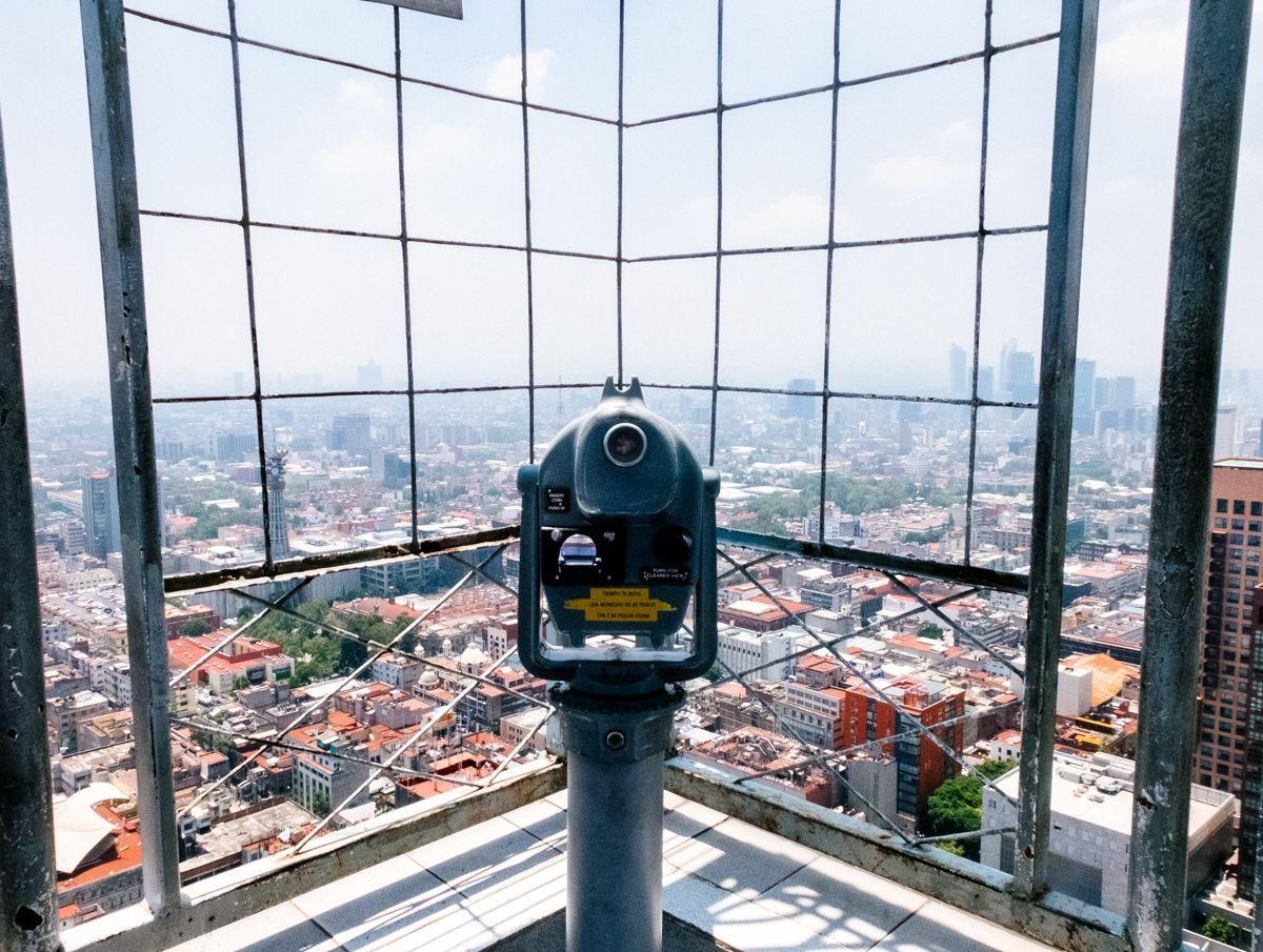 Mirador Torre Latino Mexico Trip Pinterest # Muebles Cuicuilco