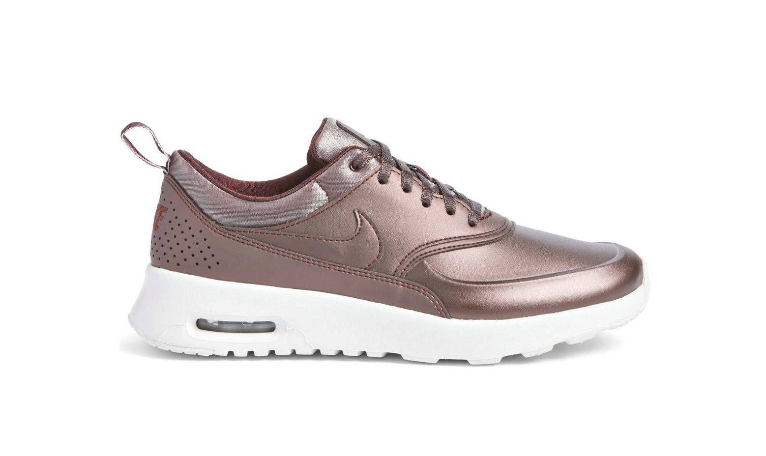 Swarovski Nike - Air Max Thea - Bling Nike shoes - Rose Gold Shoes-Nike  Swarovski- Nike Shoes - Bling shoes - Bling nikes-Rose Gold Sneakers by ... 6b9204370