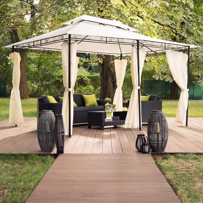 Tonnelle Kiosque De Jardin blumfeldt grandezza - tente pavillon de jardin, construction