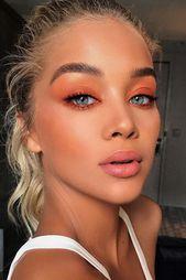 #Easy #Ideas #Makeup #Pretty #Summer Fresh Pretty Makeup Idea #peachsh