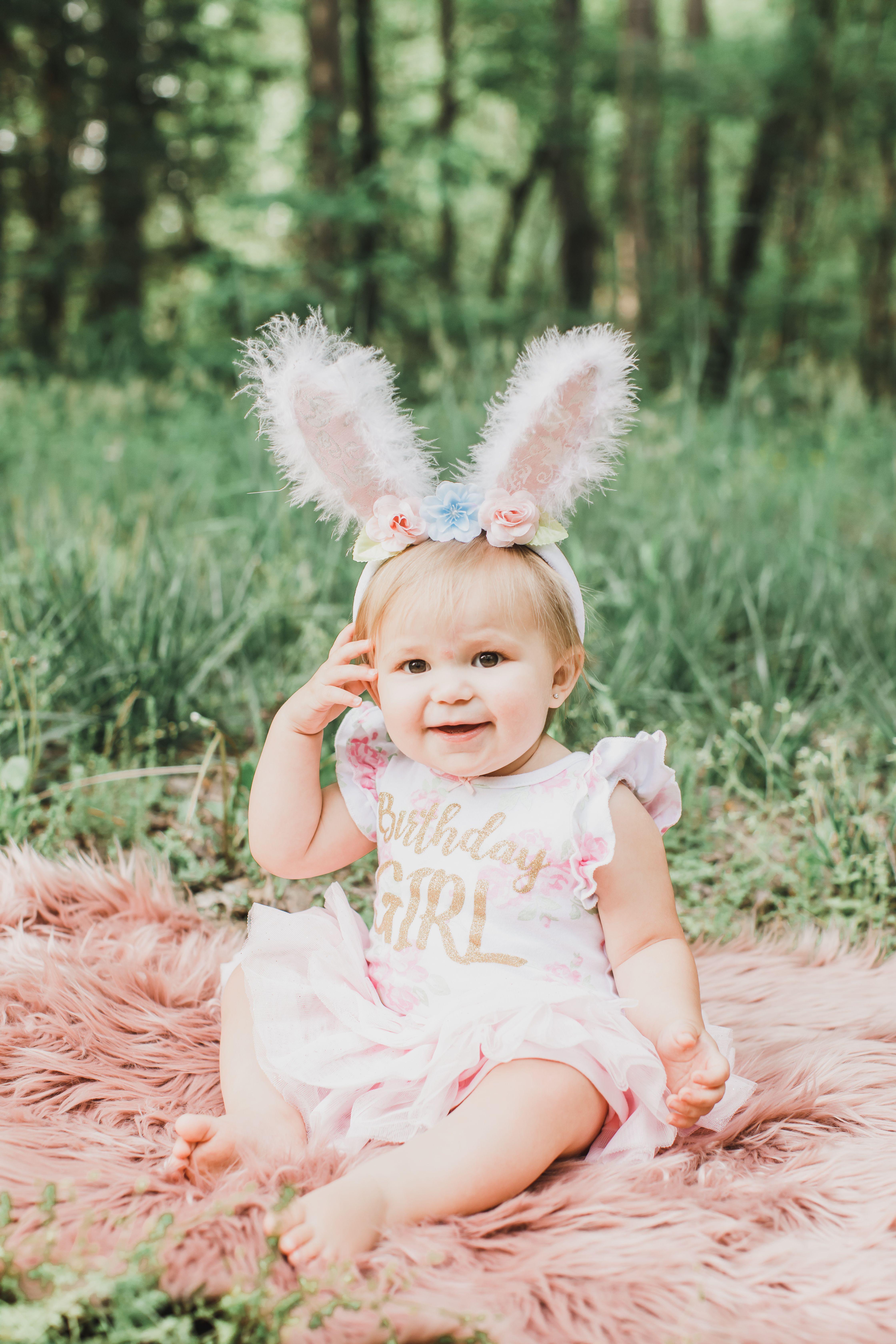 Little Girl Birthday Photography In 2020 Little Girl Photography Little Girl Photos Easter Photoshoot