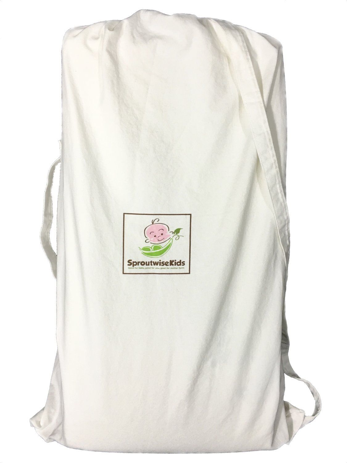 extra carry bag for folding pack n play mattress by sproutwise kids
