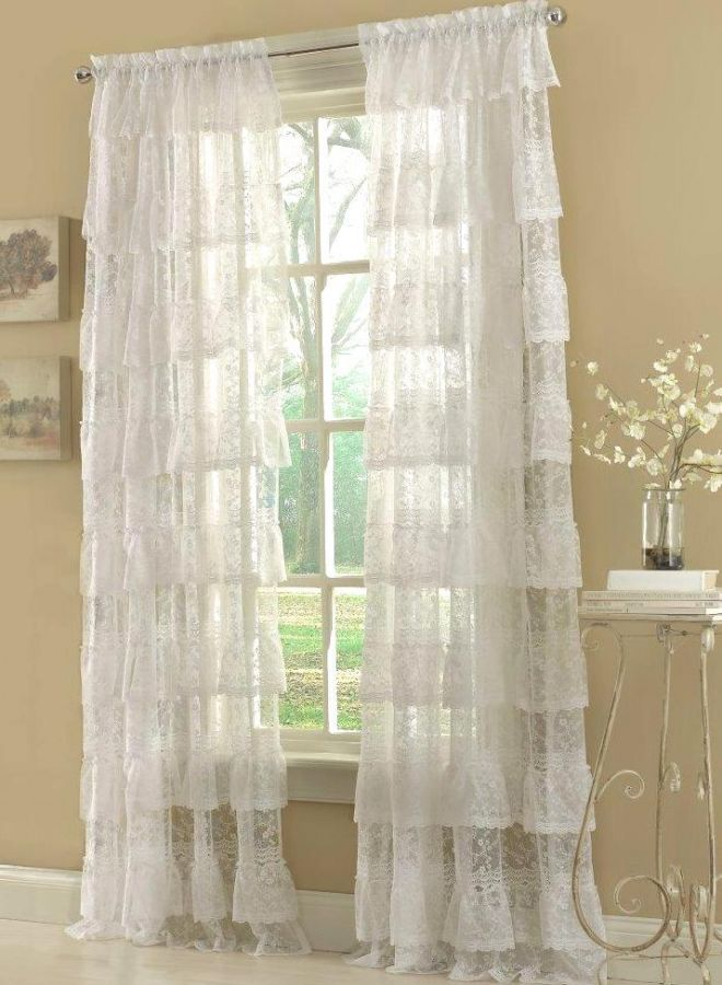 Find Great Deals On Ebay For Ruffled Priscilla Curtains Country
