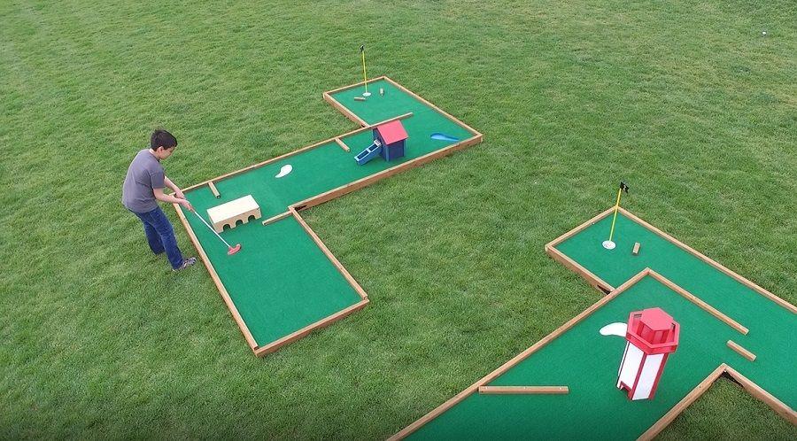 Mini Golf Course Set Mini Golf Mini Golf Course Golf Courses