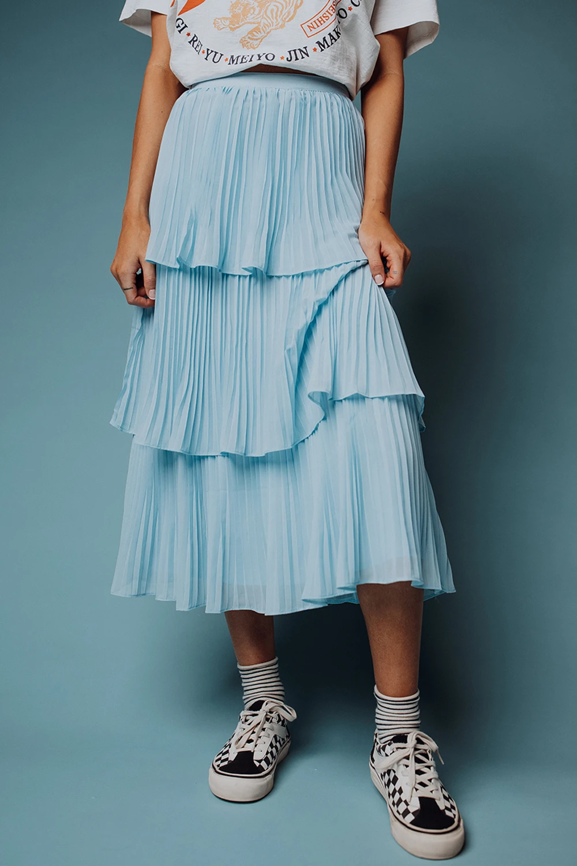Thailia Skies Skirt Clad Cloth Clad And Cloth Boho Skirts White Boho Dress [ 1500 x 1000 Pixel ]