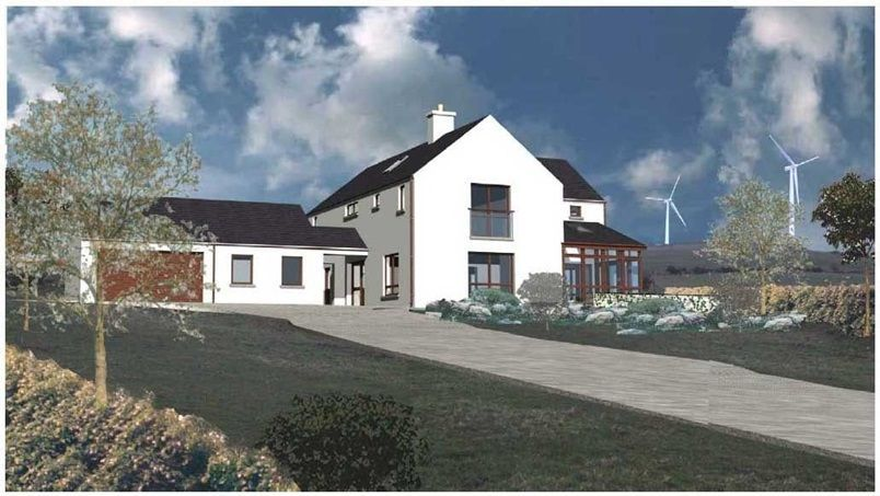 Irish house passive solar also   ethis project was commission as  simple storey dwelling on an rh pinterest
