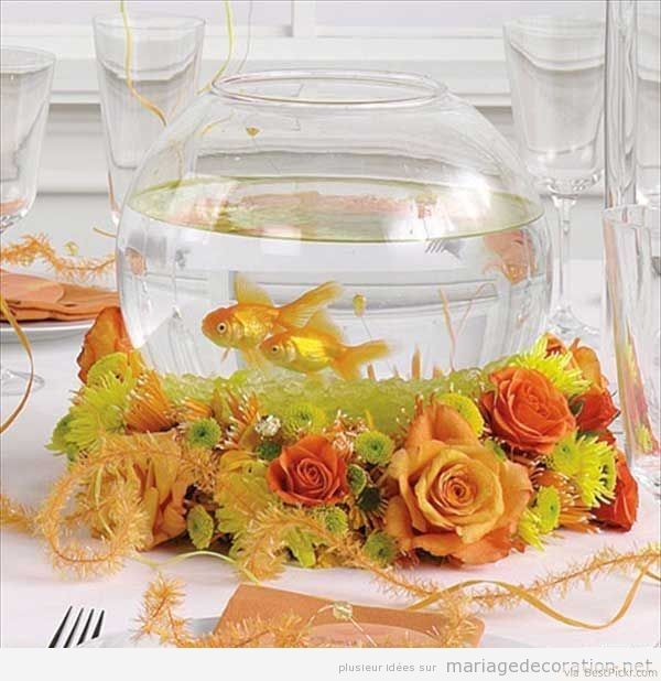 Goldfish Bowl Decoration Ideas Goldfish Bowl Wedding Reception Table Centerpieces ???  12 & Decorative Bowls: goldfish bowl decoration ideas | carinsurancepaw.top