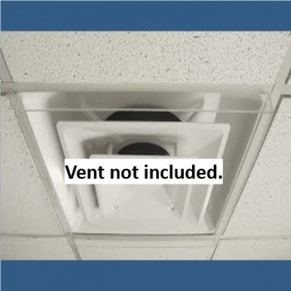 ceiling air dust deflectors clear