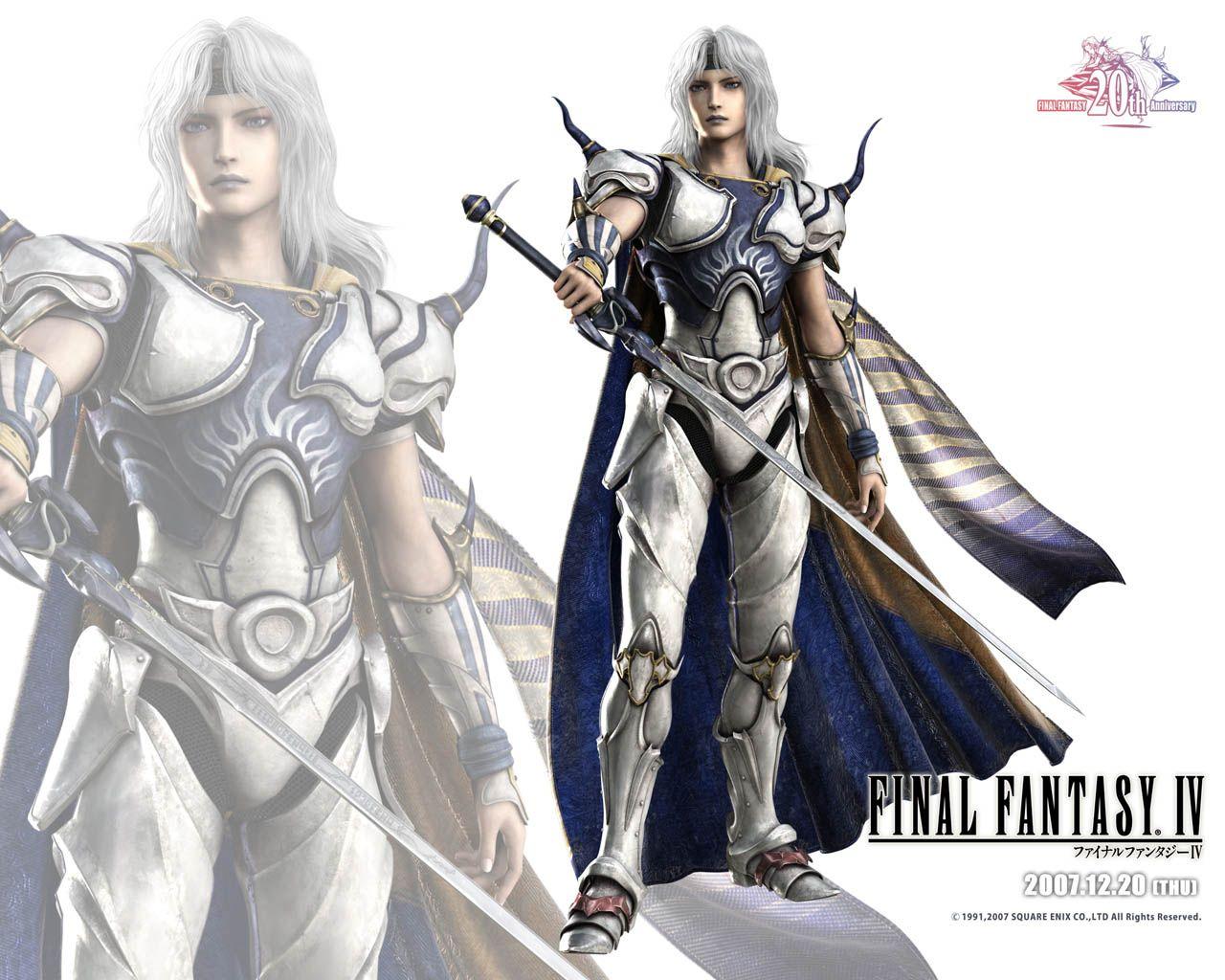 Final Fantasy 4 Wallpaper Hd