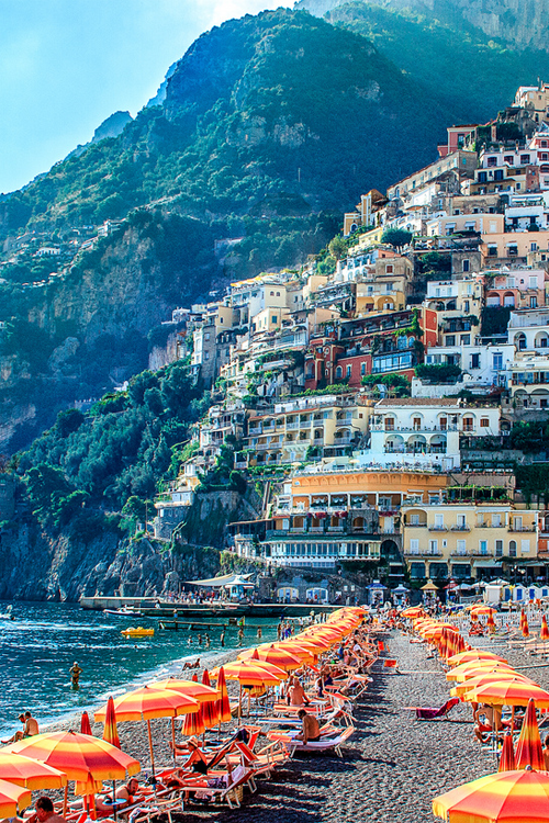 Hillside Positano Italy Time To Take A Vacation Now