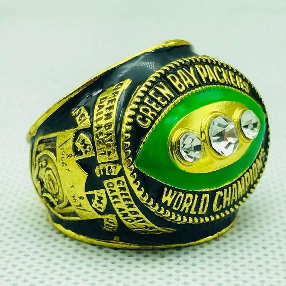 Nfl Football 1967 Greenbaypackers Packers Championship Rings Size 11 4 F Super Bowl Rings Green Bay Packers Championships Green Bay Packers Merchandise