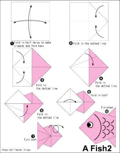 o origami mais facil