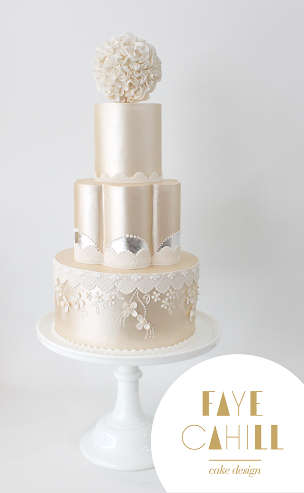wedding cake courses ireland cahill cake design cakes all white 22273