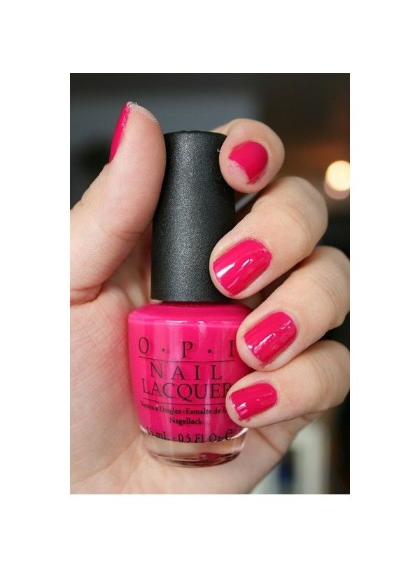Koala Berry by opi, my favourite nail colour ever. | just me ...