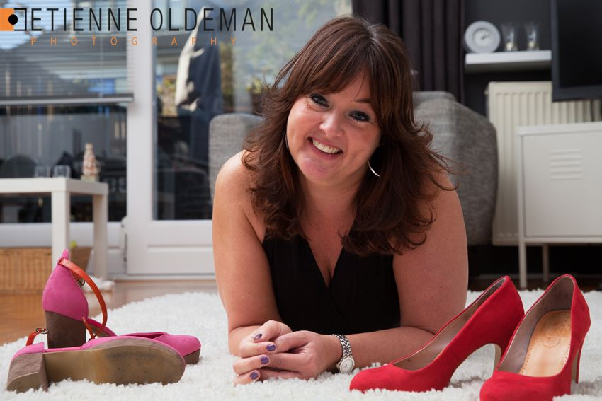 Serie about HeelsoftheWorld by Etienne Oldeman Photography Theme: Claudia and passion for heels Red pumps and pink heels c2013 www.etienneoldeman.nl