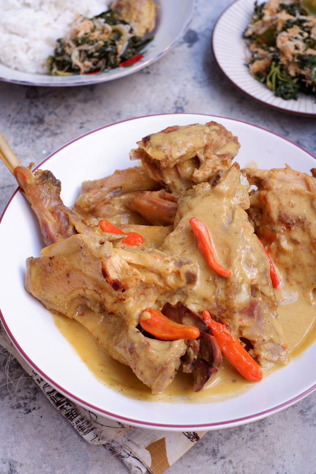Ayam Lodho Catatan Nina Makanan Resep Masakan Ayam