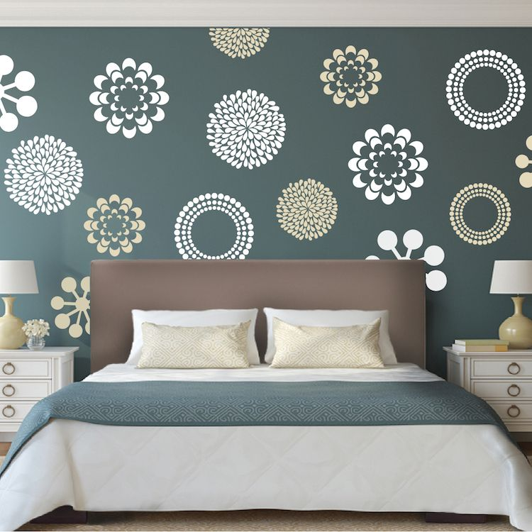 Prettifying Wall Decals Bedroom Wall Designs Wall Decor Bedroom Modern Bedroom Wall Decor