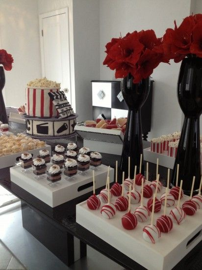 bertas award winning movie themed bridal shower