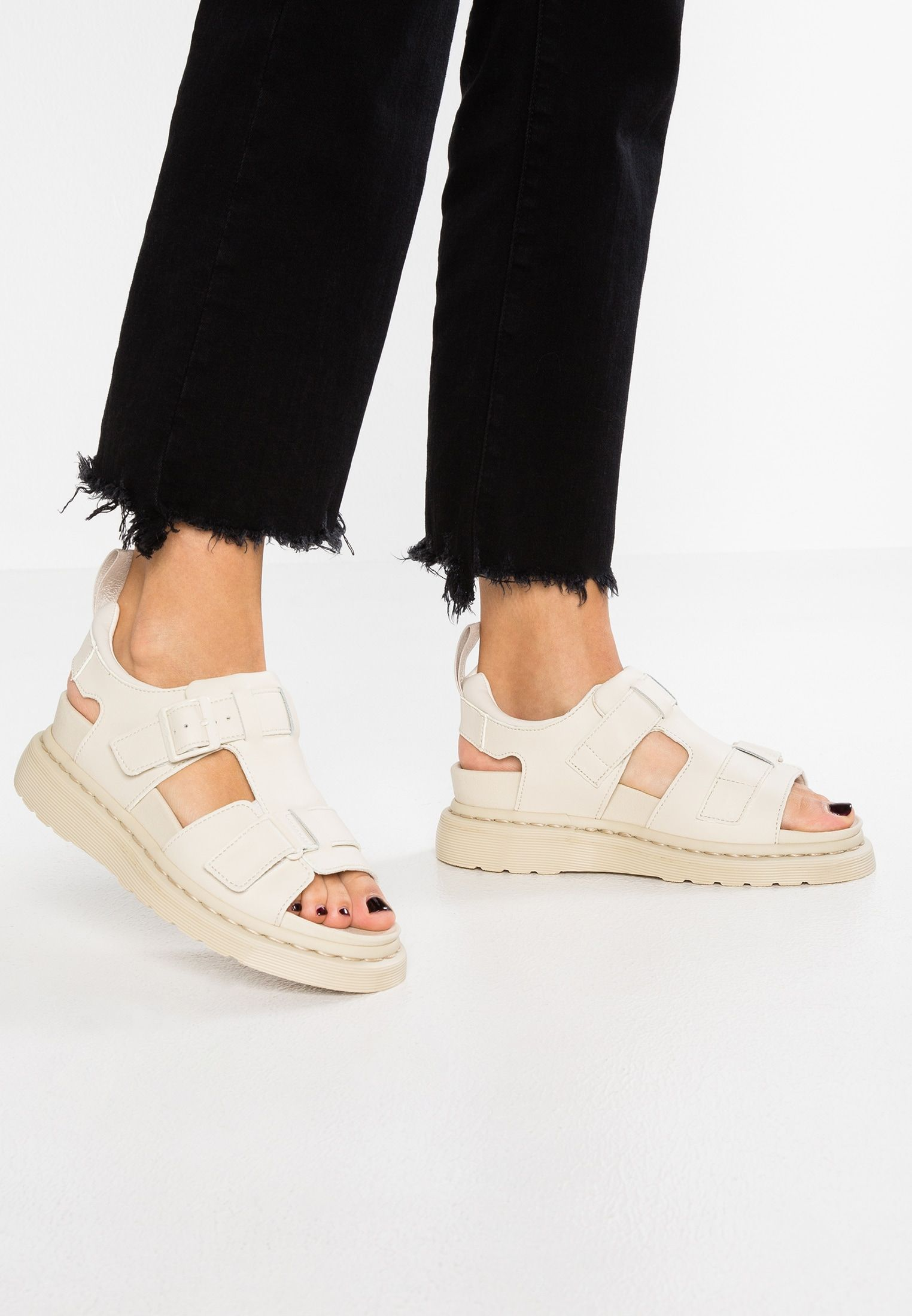fd5e735c6cf Dr. Martens KAMILAH ADJUSTABLE 2 STRAP - Platform sandals - bone -  Zalando.co