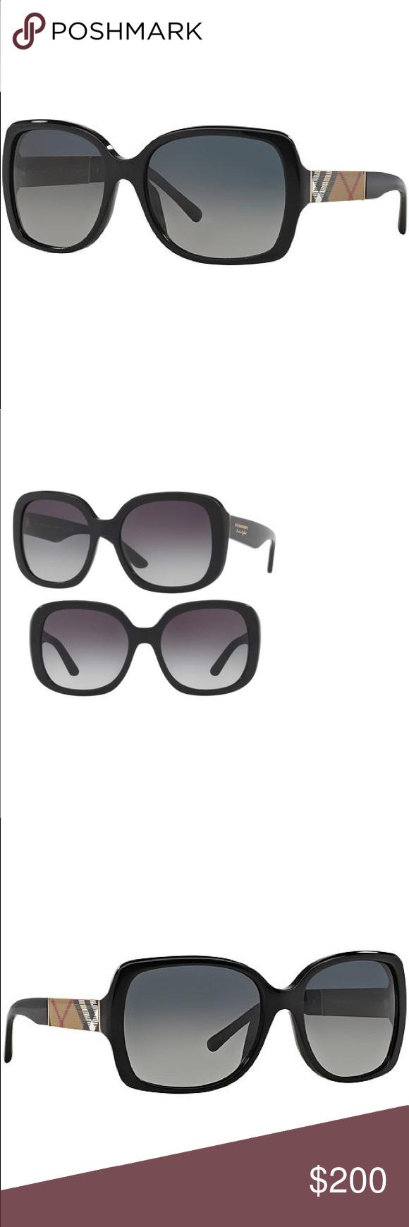 8dd7397143fd Burberry Luxottica Ladies  Black Sunglasses...stunning!! Very Jackie O!! Burberry  Accessories Sunglasses