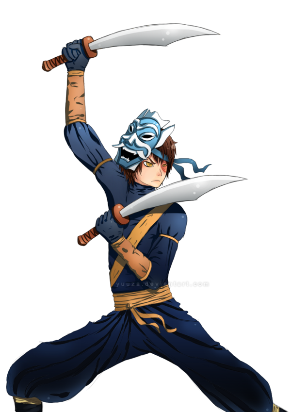 Zuko Blue Spirit Cosplay